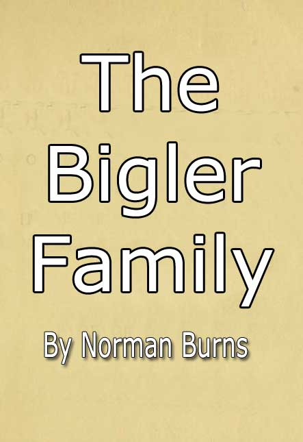 'The Bigler Family; Descendants of Mark Bigler who immigrated to America in 1733'